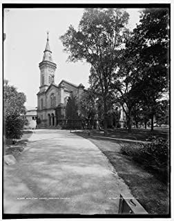 Vintography 8 x 10 Ready to Frame Pro Photo of Appleton Chapel Harvard College 1900 Detriot Publishing 88a