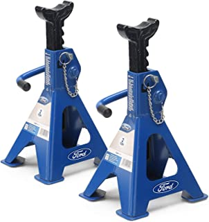 Ford 2 Ton Car Jack Stands - 2 pieces, Car Lift For Garage and Tire Change