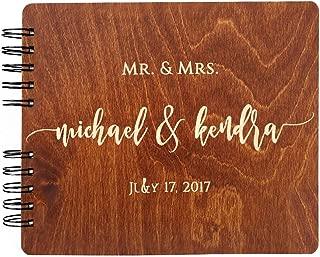 Wooden Wedding Guest Book (8.5