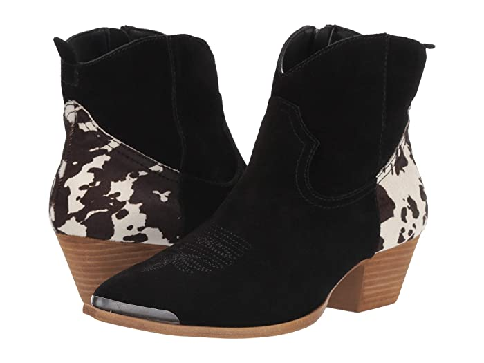 Dingo  Buck The Rules (Black Suede) Womens Pull-on Boots