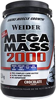 Weider Mega Mass 2000 Sabor Chocolate (1500 g). 67%