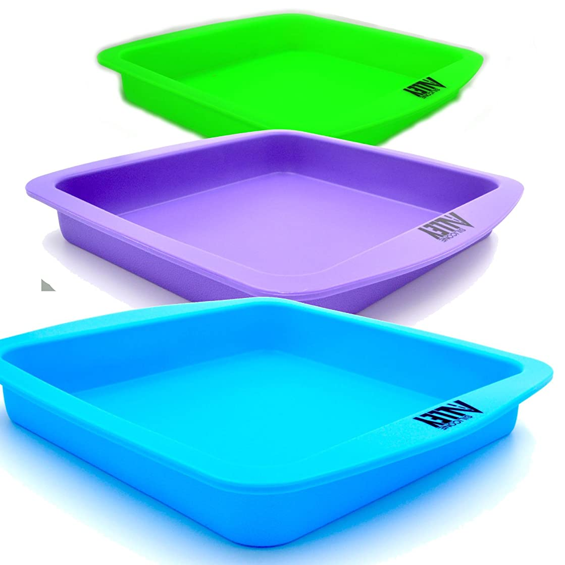 Wax Deep Dish Container Tray - Bulk Set of 3 - Assorted Colors