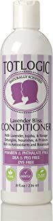 TotLogic Kids & Baby Safe Conditioner - 8 oz , Lavender Bliss, Infused with Natural Jojoba Oil and Rich in Antioxidants to...