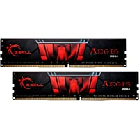 G.SKILL Aegis 16GB (2 x 8GB) PC4-24000 3000MHz DDR4 288-Pin DIMM Desktop Memory (Black)