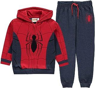 Character Niños Jogging Set Ropa Deportiva Spiderman