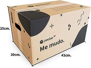 Pack de 20 Cajas Cartón de Mudanza con Asas - 430 x 300 x