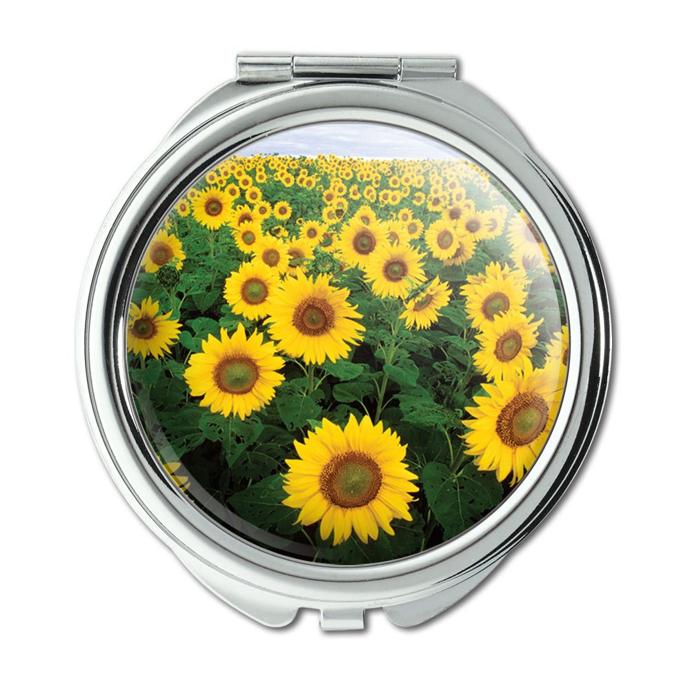 Field of Sunflowers Purse Fixed price for sale Tampa Mall Compact Mirror