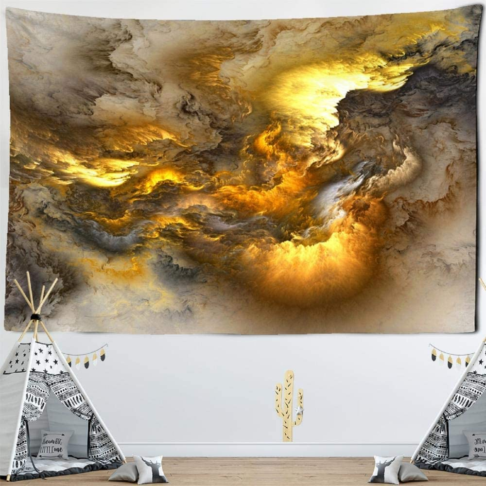 Colorful Clouds Galaxy Tapestry Wall Overseas parallel import regular service item Tap Hanging Boho Decor