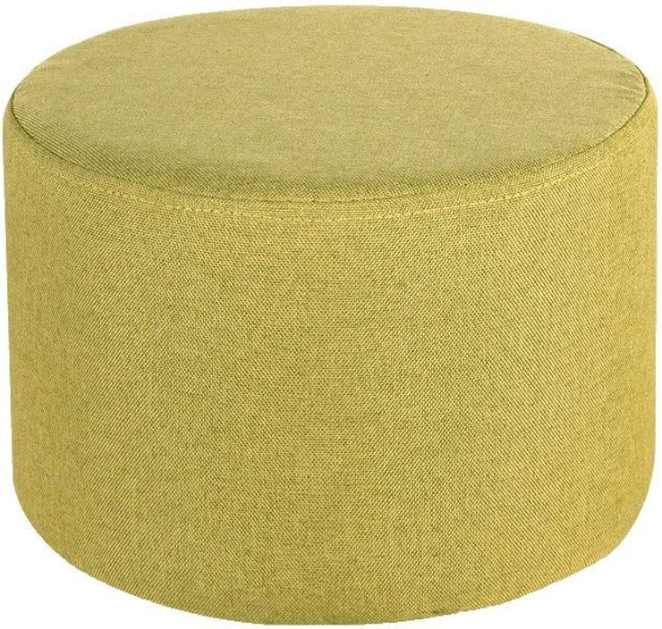 supreme Paddia with Linen Fabric SeatWooden Wood Foo Upholstered Cheap mail order sales Support