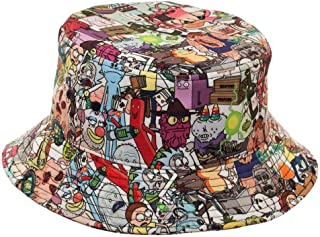 rick and morty bucket hat