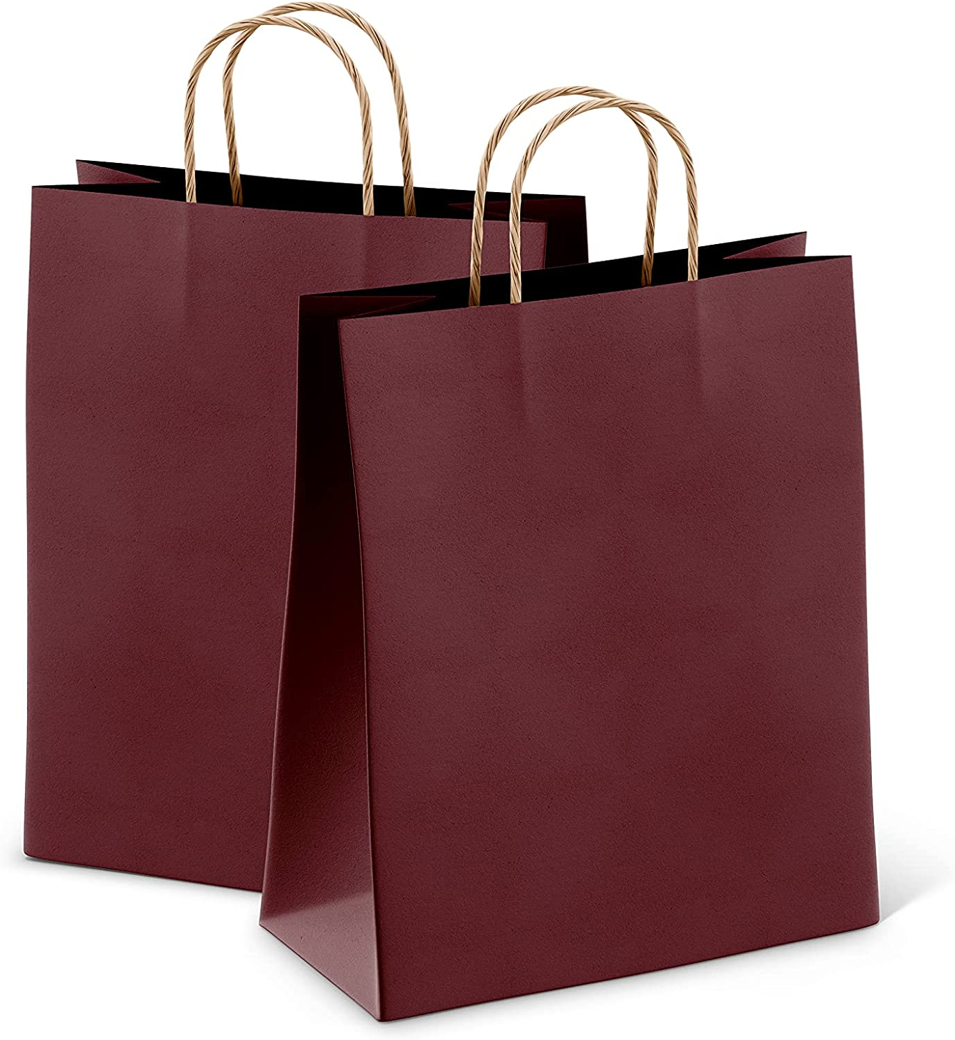 Amiff Genuine Pack of 25 Wine Shopping Paper 10.5 Bags 8 4.75 Sales SALE items from new works Kraft x