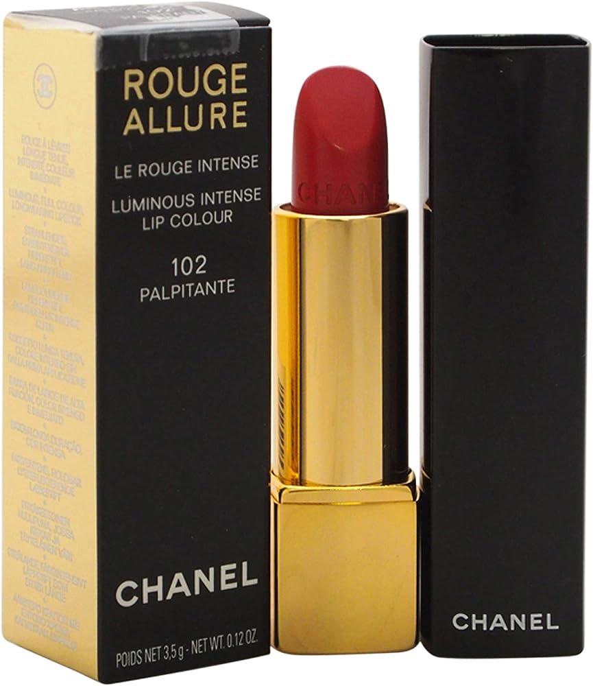 Chanel rouge allure, 102 palpitante, rossetto per  donna, 3.5 gr 3145891601022