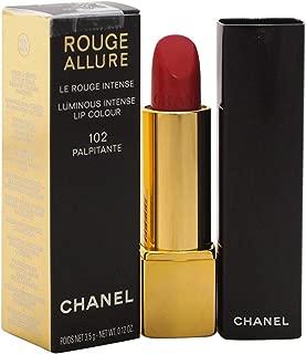 Chanel Rouge Allure Luminous Intense Lip Colour 102 Palpitante for Women, 0.12 Ounce