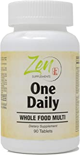 Daily Multivitamin for Men & Women - Best Immunity Vitamins For Adults, Whole Food Balance Of Nature Fruit And Vegetables ...