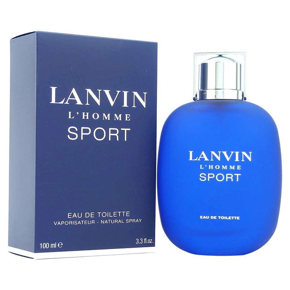 販売計画オリエンタル押し下げるランバン[LANVIN]オムスポーツ100mlオードトワレスプレー