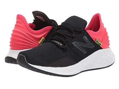 New Balance Kids Fresh Foam Roav (Big Kid) (Black/Energy Red) Boys Shoes