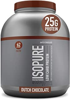 Isopure Low Carb, Vitamin C and Zinc for Immune Support, 25g Protein, Keto Friendly Protein Powder, 100% Whey Protein Isol...