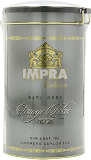 Impra Earl Grey (Big Leaf), 250-Gram Cans (Pack of 3)