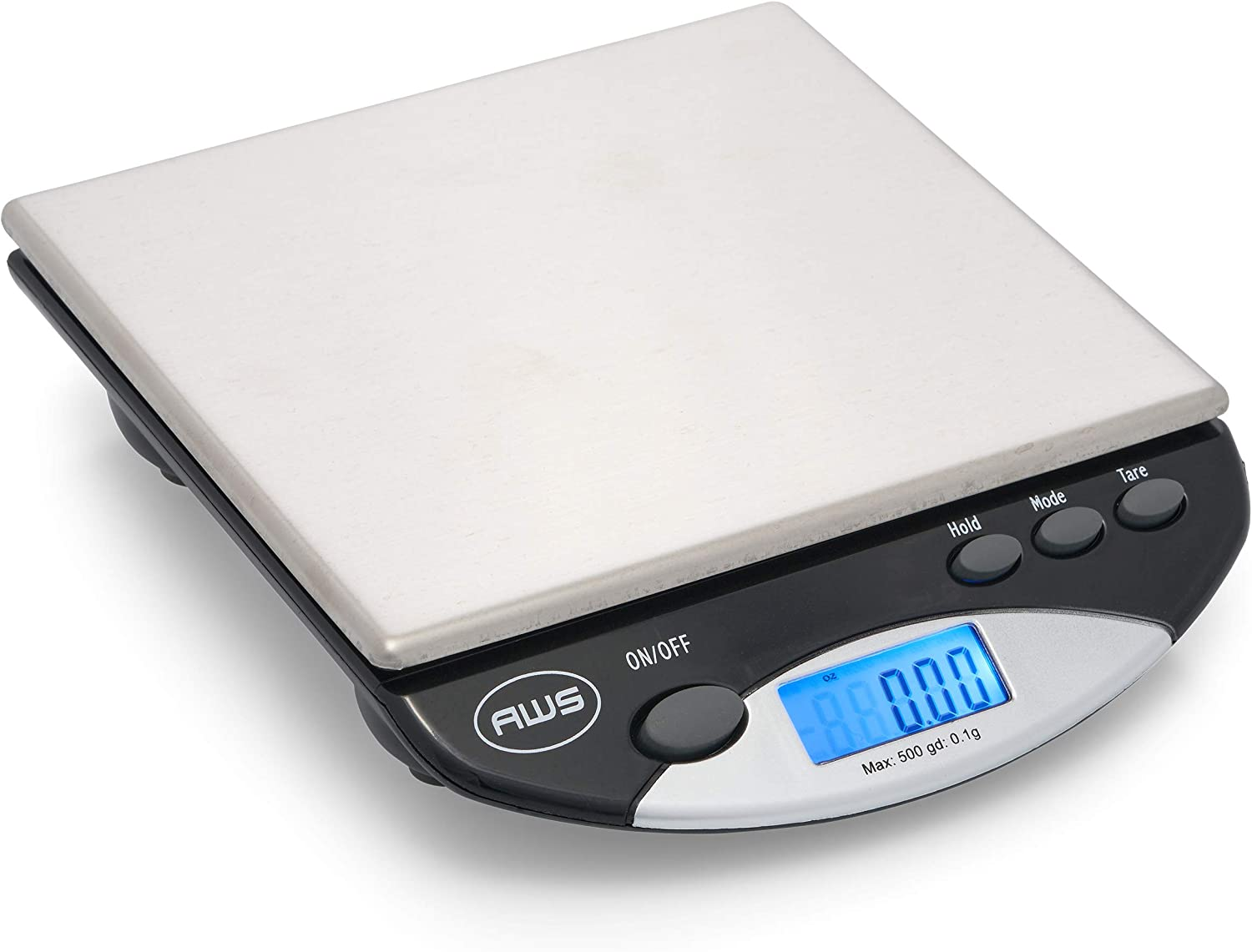 American Weigh Scales Max 79% Cheap super special price OFF AWS-500I Compact Bench 500G Scale Black
