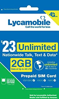 lycamobile prepaid data