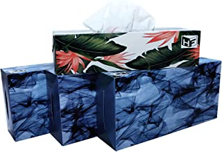 Home Float   Soft Premium Facial Tissues   Tissue Box   2 ply   100 Pulls Each (Pack of 4)