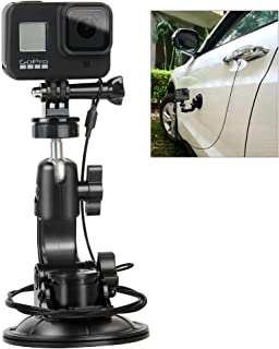 Suction Cup Mount Stand Tripod Adapter and Safety Tether Lanyard Cable for Gopro Hero Session 7 6 5 4 3+ 3 2 1,DJI OSMO Ac...