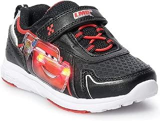 Disney Toddler Boys' Pixar Cars Lightning McQueen Sneaker/Athletic Shoe Light-Up