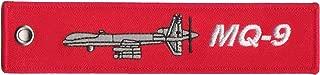 MQ-9 Aircraft Remove Before Flight Key Chain Baggage Luggage Tag