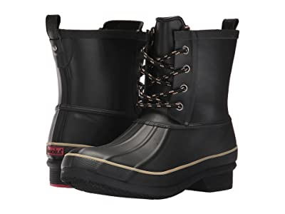 Chooka Classic Rain Duck Boot (Black) Women