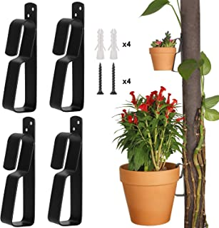 Plant Pot Latch Hangers Flower Pot Clips Klips Floating Holder for 4