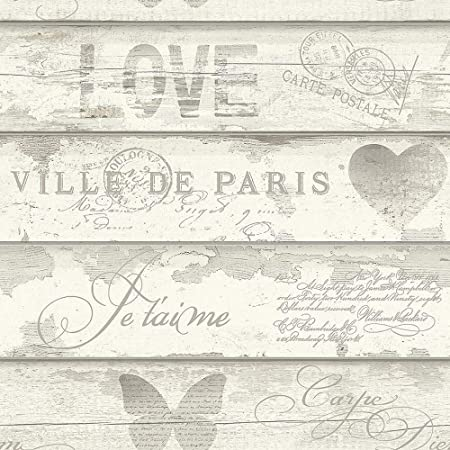 Calligraphy -Bird Songbirds Holden Decor Wallpaper Butterfly -Shabby Chic