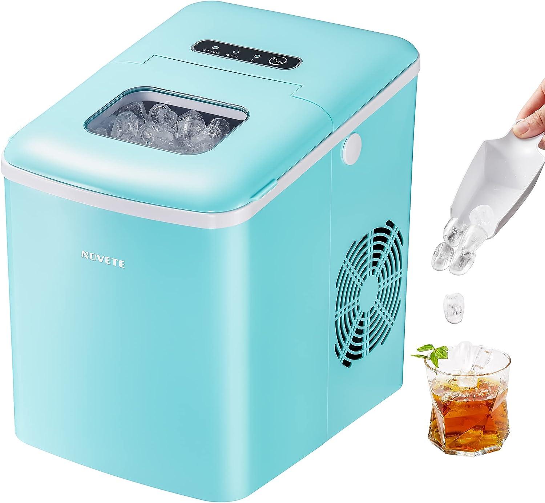NOVETE Portable Ice Maker Machine for Countertop