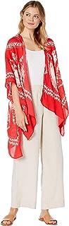 Collection XIIX womens Batik Topper Fashion Scarf One Size