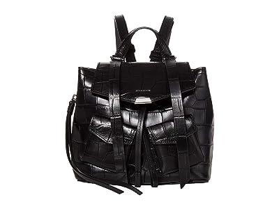 AllSaints Polly Mini Backpack (Black) Backpack Bags