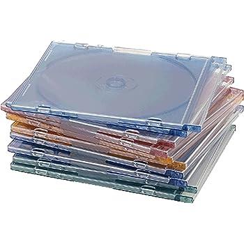 Compucessory CCS55314 - Caja para CD slim 1 Disco 125x 5 x 124 mm ...