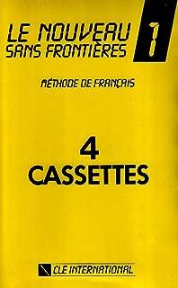 Le Nouveau Sans Frontières : Niveau 1, pour la classe (coffret 4 cassettes) (French Edition)