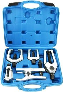 EWK 5PC Ball Joint Separator Pitman Idler Arm Puller Tie Rod Removal Tool
