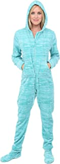 cheap footed pajamas for women