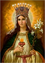 Our Lady Immaculate Heart of Mary POSTER 12x18 Virgin Mary print image picture Madonna painting Catholic Christian Religious Holy Wall Art Decor for Home Room Chapel