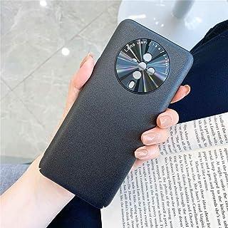 レンズリング保護カバー(ブラック)付きvivo S6 5Gオールインクルーシブ純粋プライムスキンプラスチックケース(ブラック) HDJ (Color : Black)