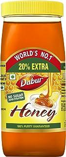 Dabur Honey :100% Pure World's No.1 Honey Brand with No Sugar Adulteration - 1kg (Get 20% Extra)