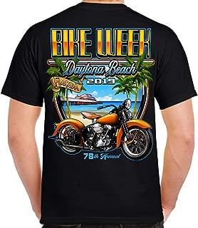2019 Bike Week Daytona Beach Beach Shield T-Shirt