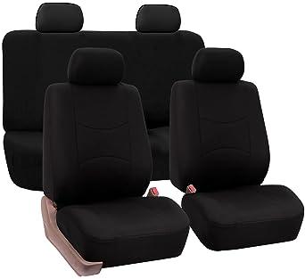 Sheepskin Seat Cushion Cover Std Car Truck or Suv Seats Black Universal Fit