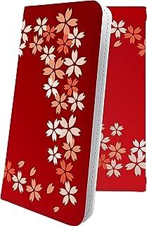 IS02 / T-01A マルチタイプ マルチ対応ケース ケース 手帳型 サクラ 桜 花柄 花 フラワー アイエス ティー 手帳型ケース 和柄 和風 日本 japan 和 T01A is2 おしゃれ