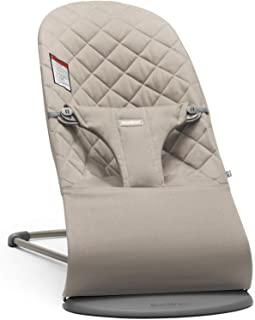 BABYBJORN Bouncer Bliss, Sand Gray, Cotton