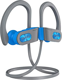 Mpow Flame S Bluetooth Headphones Sports, aptX-HD Bass+ Loud Sound, Bluetooth 5.0 Sport Headphones Running Earbuds W/12H P...