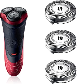 SH30 Replacement Heads for Philips Norelco Series 3000, 2000, 1000 Shavers and S738 Click and Style, SH30/52 OEM Made in N...