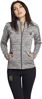 Levelwear Women's Vegas Golden Knights Charcoal Full Zip Jacket | Five Hole Clothing | Officially Licensed