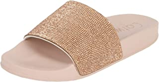 Catwalk Women's Pink Flat Slip Espadrille