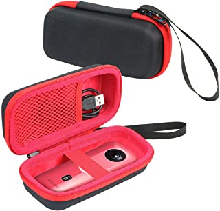 Khanka 専用保護収納ケース 用の にとって リコー 360度カメラ RICOH THETA SC2 / Theta S、V 360/ Theta SC 360 (ピンク)